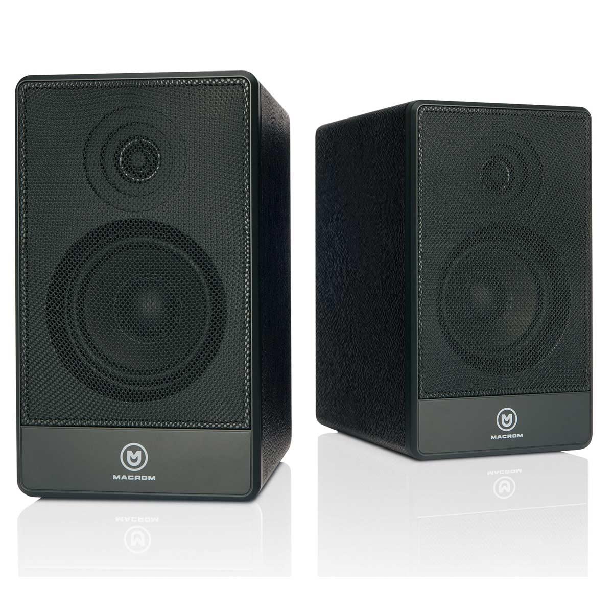 Macrom M-BTS50 trådløse høyttalere, sort