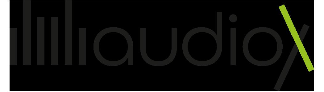 AudioX logo